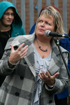 Patricia LEWSLEY (Northern Ireland Commissioner for Children and Young People) (c) Allan LEONARD @MrUlster