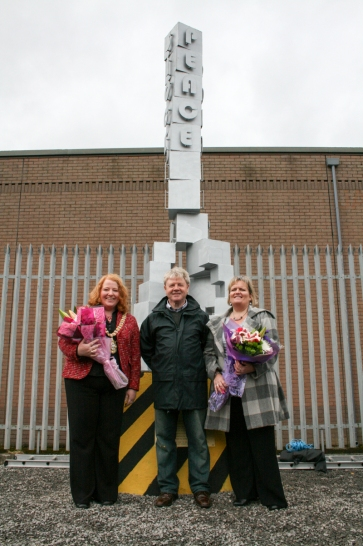 Councillor Naomi LONG MLA (Lord Mayor of Belfast), Pastor Jack McKEE, and Patricia LEWSLEY (Northern Ireland Commissioner for Children and Young People) (c) Allan LEONARD @MrUlster