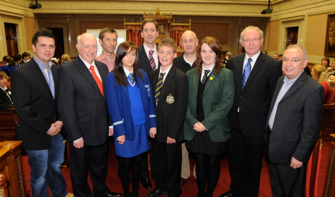 Young people discuss CSI at Stormont @Cinemagic
