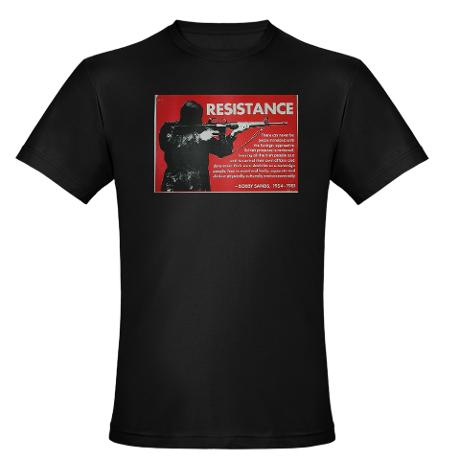 20120108 Cafe Press Resistance T-shirt