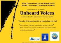 20110929 WAVE Unheard Voices