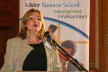 Professor Jackie McCOY (Business Institute, University of Ulster) (c) Allan LEONARD @MrUlster
