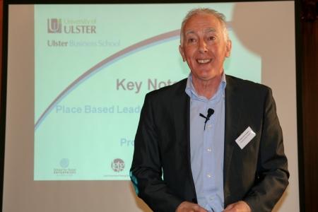 Professor Robin HAMBLETON (University of the West of England, Bristol) (c) Allan LEONARD @MrUlster