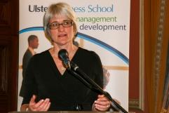 Professor Deborah PEEL (University of Ulster) (c) Allan LEONARD @MrUlster