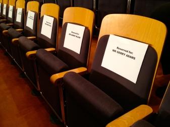 Reserved seating (c) Allan LEONARD @MrUlster