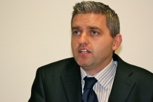 Adrian JOHNSTON (Chair, Londonderry YMCA) (c) Allan LEONARD @MrUlster
