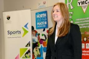 Lisa BRADLEY (Ulster Business School) (c) Allan LEONARD @MrUlster