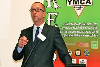 Gary McCLEAN (RESPECT Project Manager) (c) Allan LEONARD @MrUlster