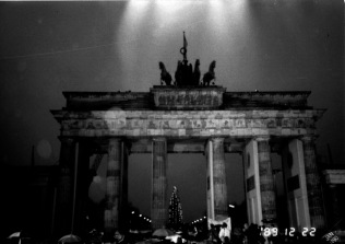 The Wall, Brandenberg Gate, Berlin, Germany.