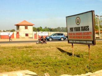 Pay Your Taxes. Kaduna, Nigeria.