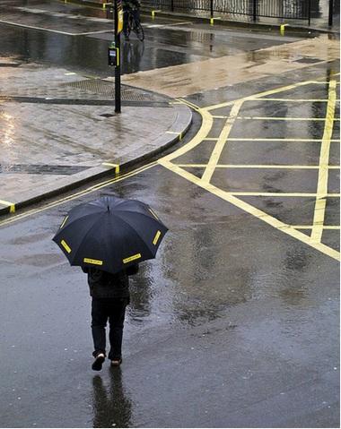 Yellow Rain (c) Linda Wisdom @CreativeWisdom_