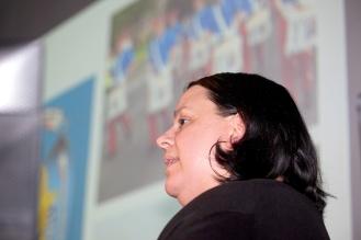 Glenda DAVIES (Sandy Row Community Forum) @TheRowYouKnow (c) Kevin Cooper Photoline