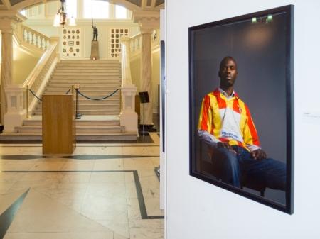 Belonging Project exhibition, Belfast City Hall, Northern Ireland http://thebelongingproject.org