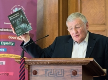 Rev. Harold GOOD cites book, Uncomfortable Conversations (c) Allan LEONARD @MrUlster