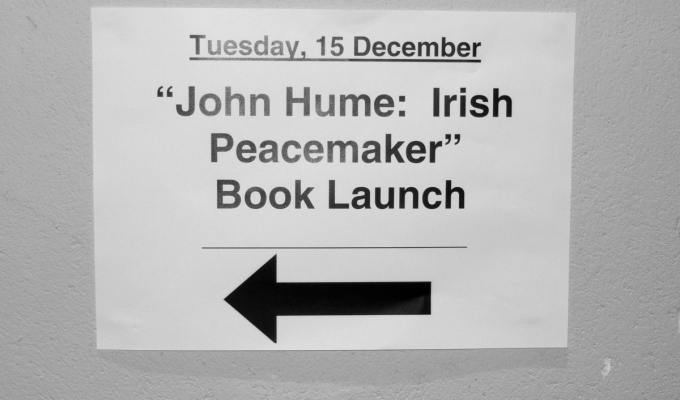 John Hume: Irish peacemaker. Discuss.