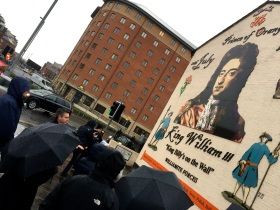 Prince of Orange: King William III mural, Sandy Row Tour, Belfast, Northern Ireland http://www.sandyrow.co.uk/