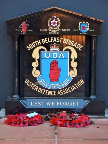 South Belfast Brigade. Memorial, Sandy Row Tour, Belfast, Northern Ireland http://www.sandyrow.co.uk/