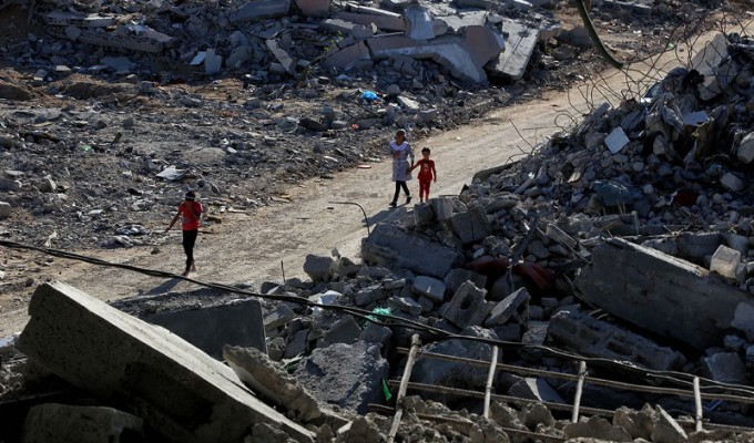 Bringing our own lens: Visualising conflict inPalestine
