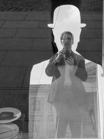 Allan LEONARD self-portrait