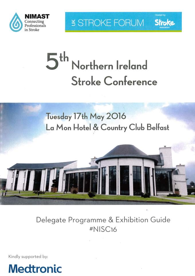Living the stroke experience: NIMAST 2016
