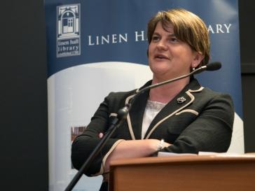 First Minister of Northern Ireland, Arlene FOSTER MLA (c) Allan LEONARD @MrUlster