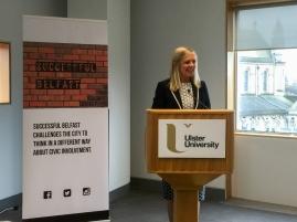 Suzanne WYLIE (Belfast City Council) (c) Allan LEONARD @MrUlster