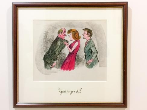 Speak to your MP. Set of four cartoons drawn by Rowel Friers (c) Allan LEONARD @MrUlster