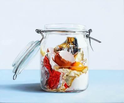 Cake in Jar (2016) by Stephen JOHNSTON.