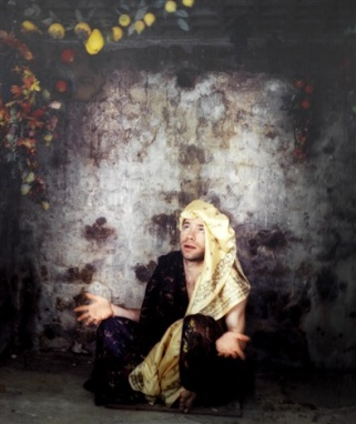 Self-Portrait (1997) by Mat COLLISHAW.