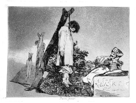 Tampoco (Not (in this case) either) by Francisco GOYA.