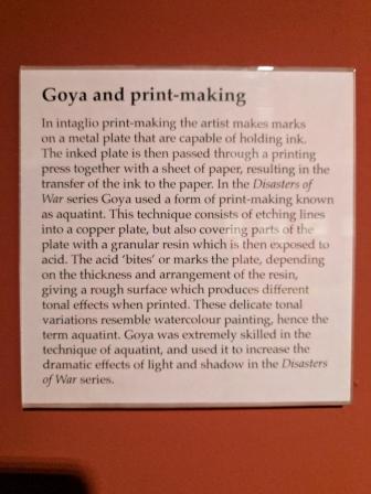 Goya and print-making. Francisco Goya (1746-1828), The Disasters of War.
