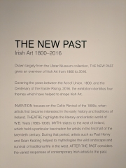 The New Past. Irish Art 1800-2016.