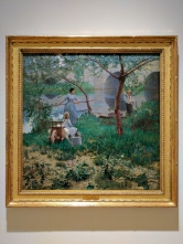Under the Cherry Tree (1884) by Sir John LAVERY.