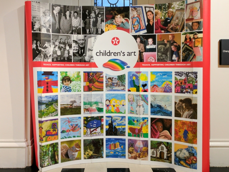 Texaco Children's Art.
