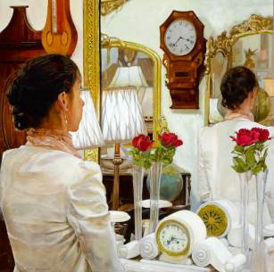 Mirror Mirror (2) (2016) by Dave MARDIGAN.