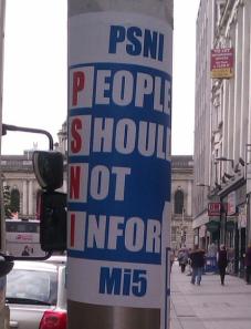 PSNI: People Should Not Inform