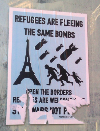 SharedFuture 20161128 - Troubled Images - 09 Refugees are fleeing the same bombs
