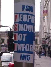 SharedFuture 20161128 - Troubled Images - 16 PSNI People Should Not Inform