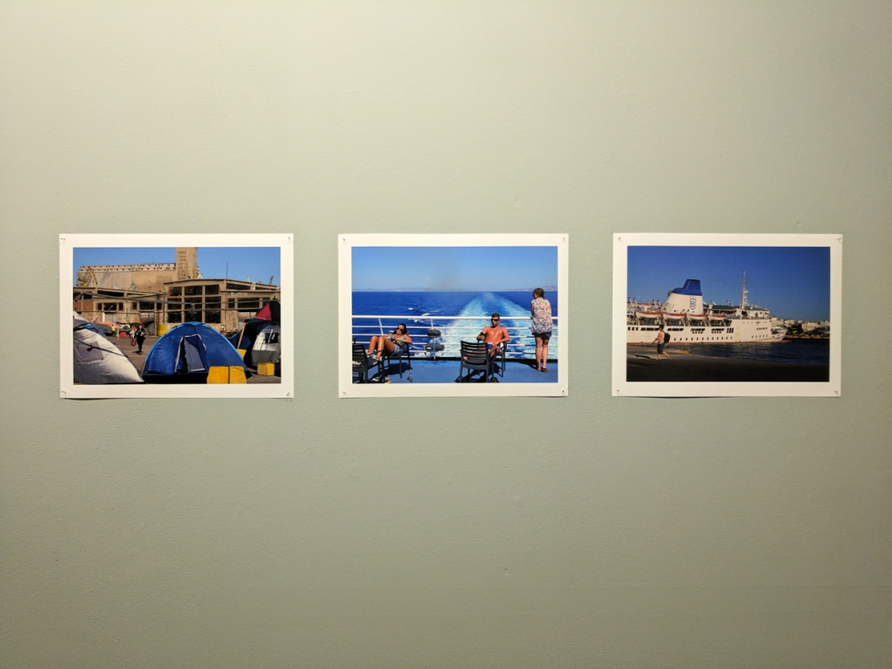 Piraeus Port, by Chrysoula DRAKAKI. Reciprocated Gaze.