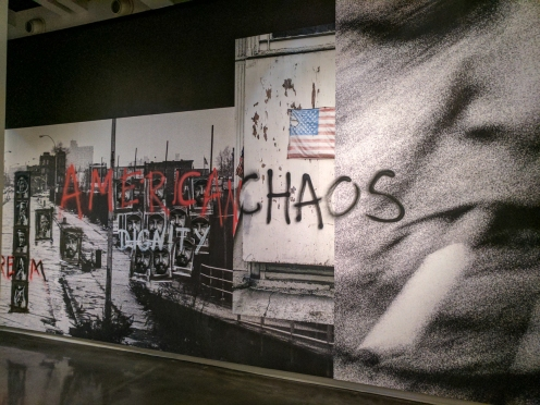 American chaos.