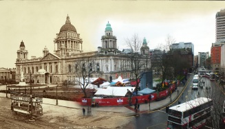 Belfast City Hall: 1914 & 2014.