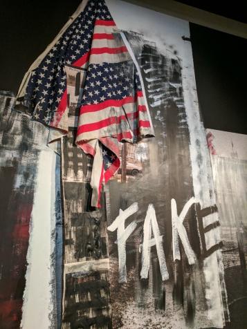 Fake. Stephane Duroy exhibition, Le Bal, Paris, France.