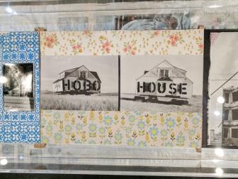 Hobo house. Stephane Duroy exhibition, Le Bal, Paris, France.