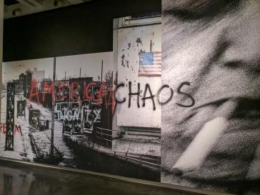 American chaos. Stephane Duroy exhibition, Le Bal, Paris, France.