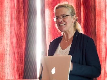 Professor Fiona MAGOWAN (c) Allan LEONARD @MrUlster