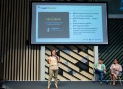 Global Fact 4 conference, Madrid, Spain. #GlobalFact4 @factchecknet @Poynter @ReportersLab (c) Mario GARCIA