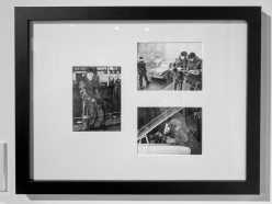 Three photographs used in the publication 'Four Months in Winter' by David BARZILAY and Captain Mike MURRAY, published in 1972 and conceived as a souvenir booklet of the first tour of Belfast by the Second Royal Battalion of Fusiliers. BARZILAY worked as a journalist in Belfast from 1969 to 1976, when he returned to England.