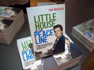 Book launch of Little House on a Peace Line (Tony MACAULAY) (c) Allan LEONARD @MrUlster