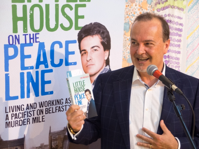 An acorn matures: Book launch of Little House on a Peace Line (Tony MACAULAY)