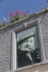 """Portrait. Portaferry. © Jane McComb; Nature Morte (Louis MacNeice): """"And, by photographing our ghosts, claims to put us at ease."""""""